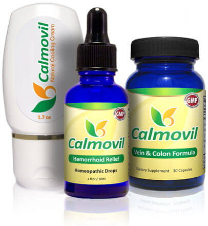 Calmovil - solution for people suffering from hemorrhoids