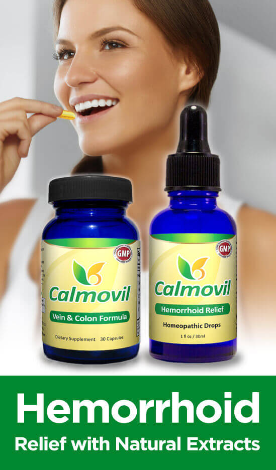 Hemorrhoid Relief: Calmovil