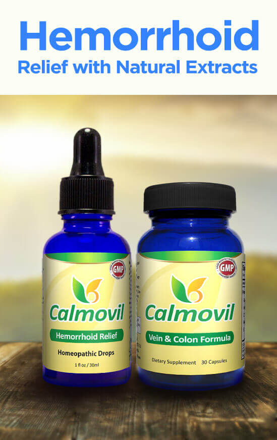 Calmovil Hemorrhoid Treatment Kit