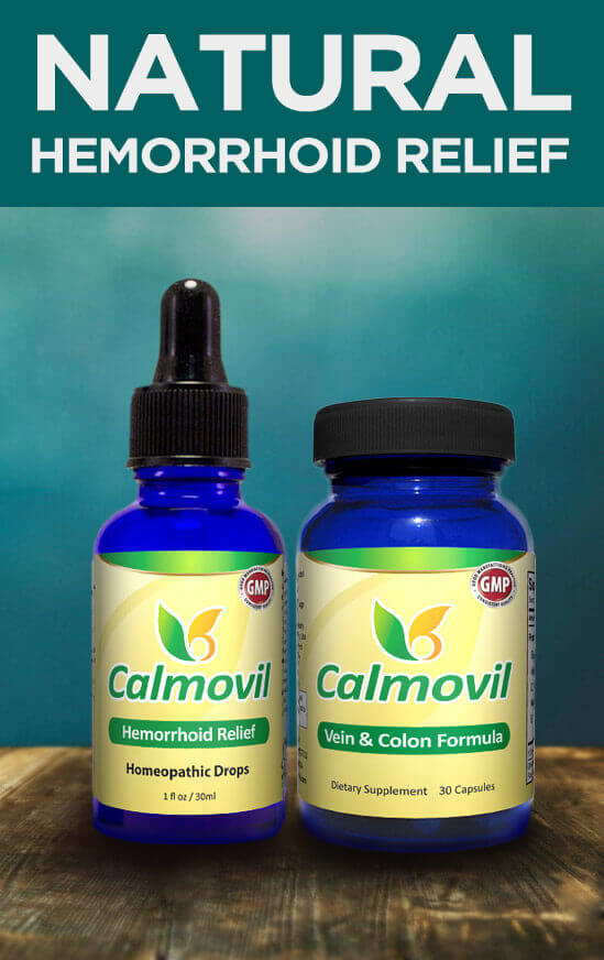 Natural Hemorrhoid Treatment - Calmovil
