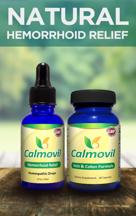 Hemorrhoid Relief - Calmovil