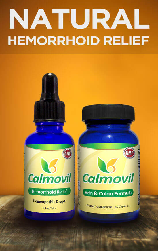 Natural Hemorrhoid Relief - Calmovil