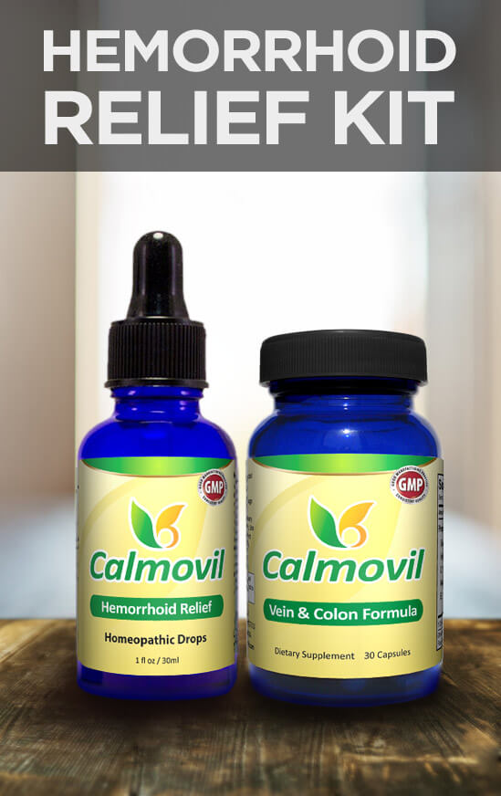 Calmovil: Treatment for Hemorrhoids