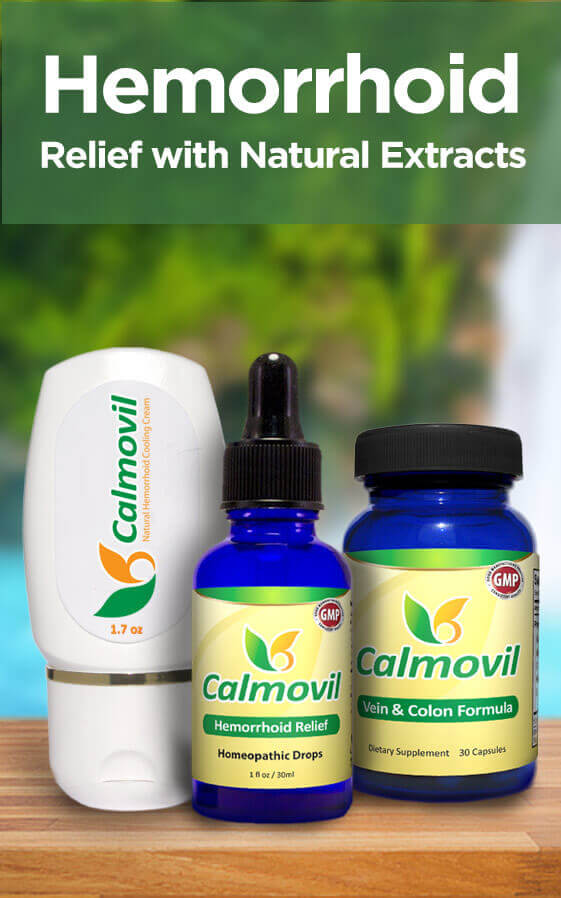 Calmovil: All-Natural Treatment for Hemorrhoids