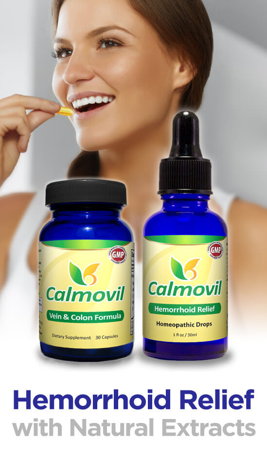 Calmovil Hemorrhoid Treatment Package