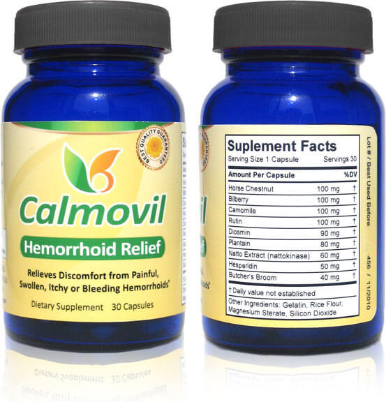 Calmovil - Hemorrhoid Relief