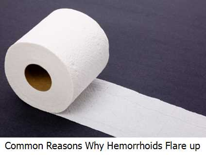 Common Reasons Why Hemorrhoids Flare up