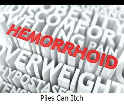 Piles Can Itch